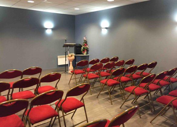 Une salle de cérémonie omni-culte