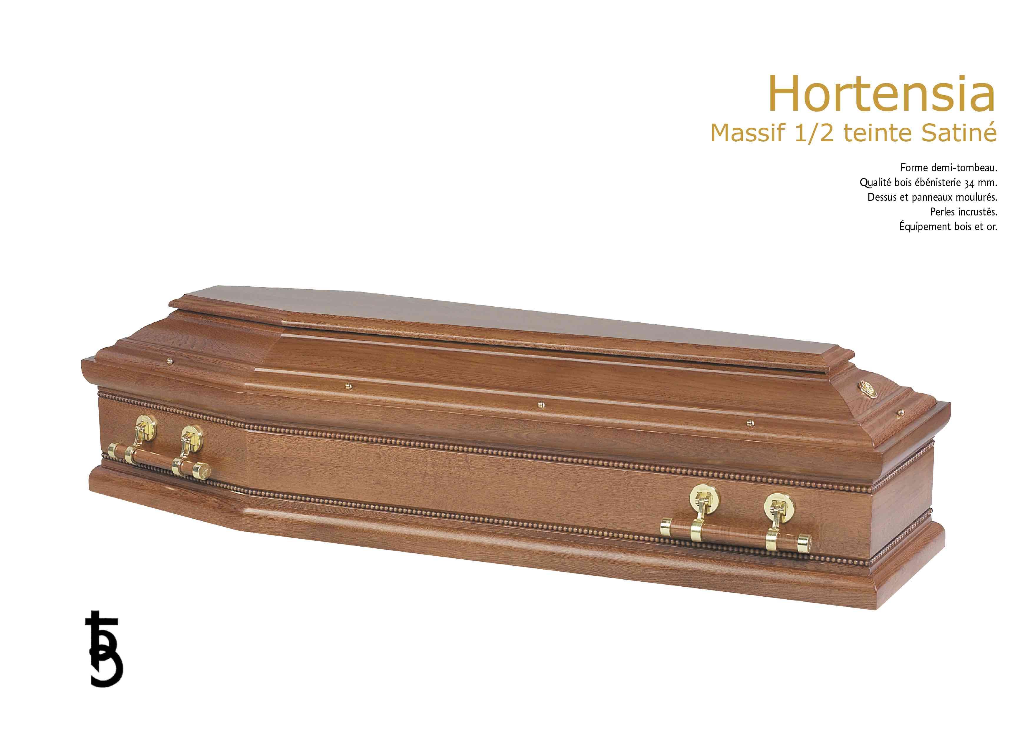 CERCUEIL HORTENSIA