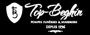 logo pompes funebres top beghin